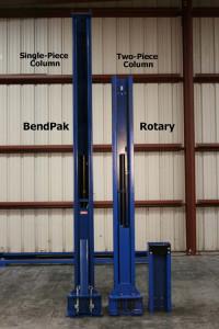 Bendpak Xpr-10 Columns-Front