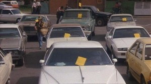 flyers on cars