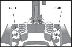 car lift arm configuration