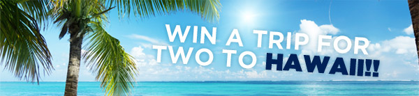 Win a trip to hawaii header