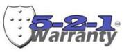 Bendpak 5-2-1 Warranty